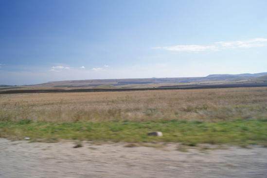 Вид на северный склон горы Клементьева