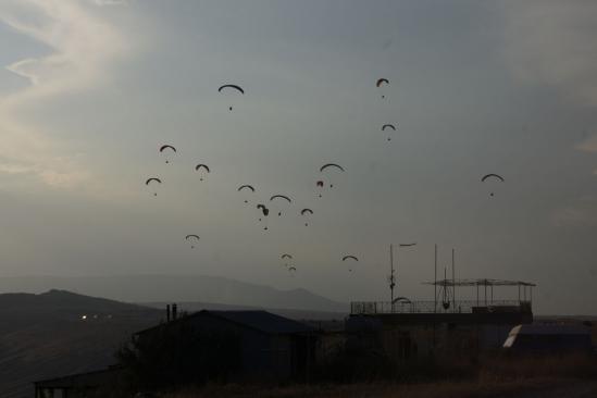 Типичная картина при хорошем Южном ветре