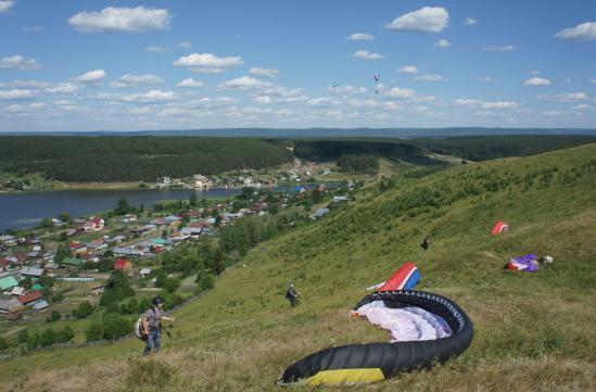 Полеты на Северном склоне, Михайловск